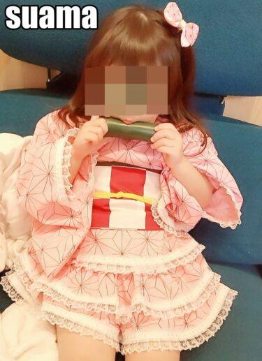 鬼滅の刃ねずこちゃん風の浴衣ドレスの作り方紹介